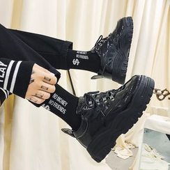 Lazi Boi - Zapatillas de plataforma