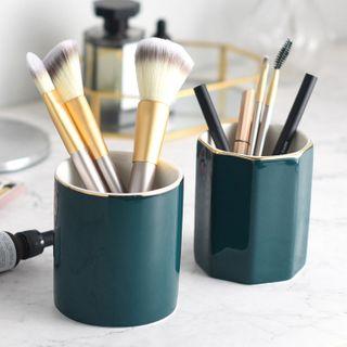 miss house - Ceramic Pen Holder