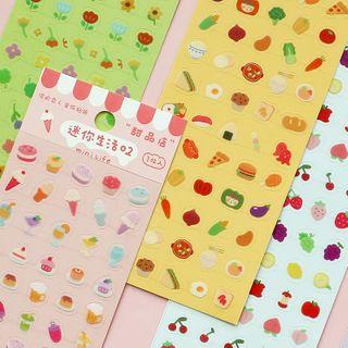 Ms Zaa - Cartoon Print PVC Sticker