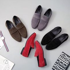 Taragan - Faux Leather Loafers