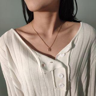 Seirios(セイリオス) - Alphabet Necklace