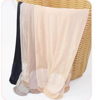 MEIA - 三件套装: 纯色薄纱贴身裤