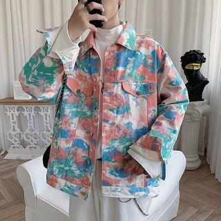 FOEV - Tie-Dye Denim Jacket