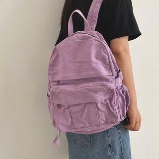 Bunny Hop - Canvas Backpack