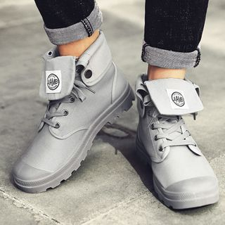 BELLOCK - Lace Up Short Boots