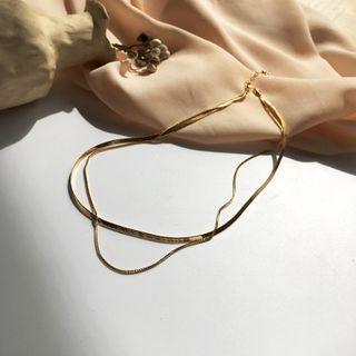 Yambo - Chain Layered Necklace