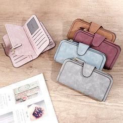 tablarosa - Faux Leather Long Wallet