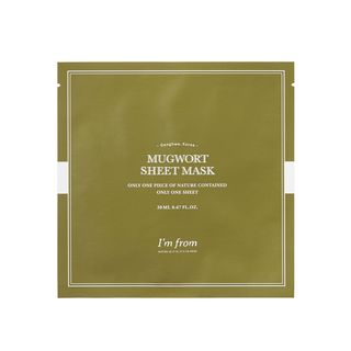 I'm from - Mugwort Sheet Mask