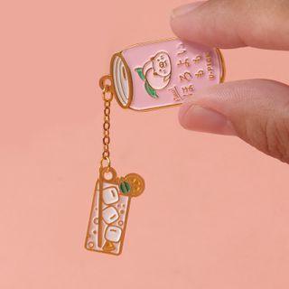 Ballyway - 卡通飲料胸針 (多款設計)