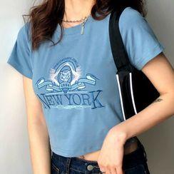 Tonni's - 印花短袖T裇