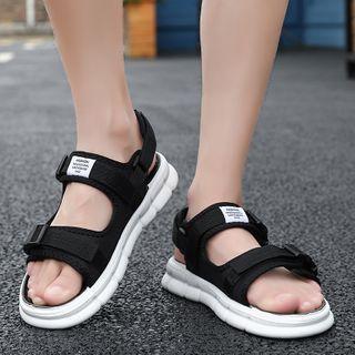 BELLOCK - Platform Adhesive Strap Sandals