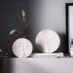 Treeshow - Ceramic Face Ornament