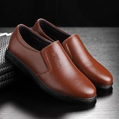 TYCOON - Faux Leather Loafers