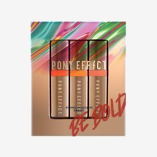 PONY EFFECT - Enamel Lip Lacquer Mini Kit