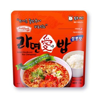 Easybab - Instant Noodle and Rice with Jjamppong 110g