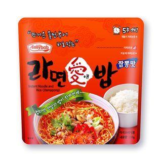 Easybab - Korean Bibimbap & Noodle with Jjamppong 110g