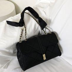 DABAGIRL - Chain-Strap Quilting Shoulder Bag