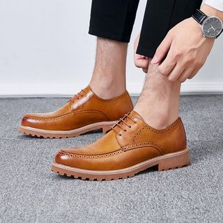 Goldtrench Shoes - Lace-Up Brogue Shoes
