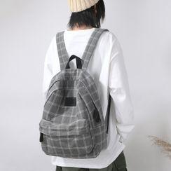 MUSA - Plaid Backpack