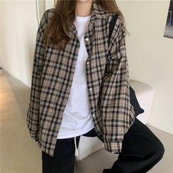 VEIST - 長袖格紋襯衫