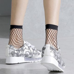 Sonne - 渔网短袜