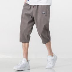 PEPP - Capri Logo Straight-Cut Pants