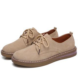 YARU - 纯色牛津鞋