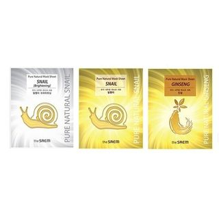 The Saem - Pure Natural Mask Sheet 1pc (3 Types)