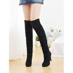 Shoes Galore - Heel Long Boots