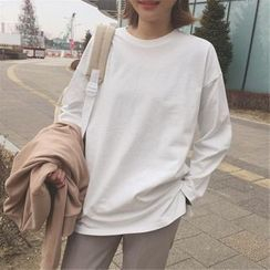 Ukiyo - Plain Long-Sleeve T-Shirt