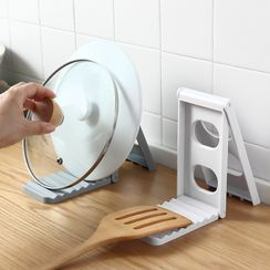 KIizzi - Plastic Foldable Pot Lid Drying Rack