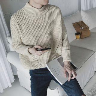 Soulcity - Chunky Knit Mock Neck Sweater