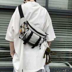 Simone(シモーヌ) - Nylon Sling Bag