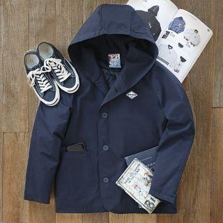 Maden - Plain Padded Hood Jacket