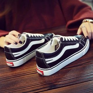 Solejoy - 配色邊休閒鞋