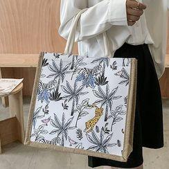 OLGALOG - 印花帆布手提袋