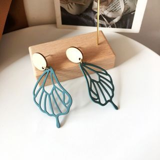 Yambo - Wing Drop Earring / Clip-On Earring