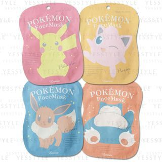 Lovisia - Pokemon Face Mask 1 pc - 4 Types