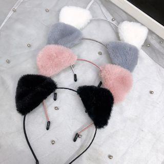 Sohma - Chenille Cat Ear Headband
