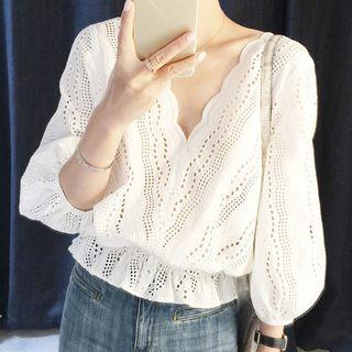 Rocho - 扇形边衬衫