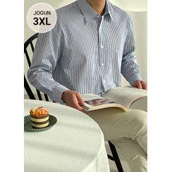 JOGUNSHOP - Striped Cotton Shirt