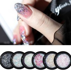 WGOMM - Sequined Nail Art Decoration