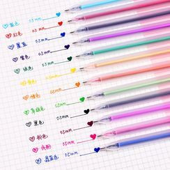 ECLAT - Set of 12: 0.5mm Gel Pen