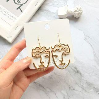 Kiksuya - Face Silhouette Earring