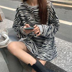 Shopherd - Zebra Print Pullover