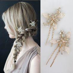 Vivian Design - Wedding Rhinestone Star Hair Stick