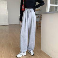 KAKAGA - Drawstring Sweatpants