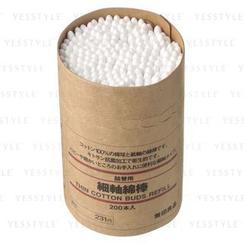 MUJI - 棉花棒 纖幼 補充裝