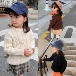 SEVENKIDS - Kids Cable Knit Sweater