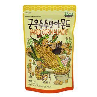 Tom's Farm - Baked Corn Almond 210g